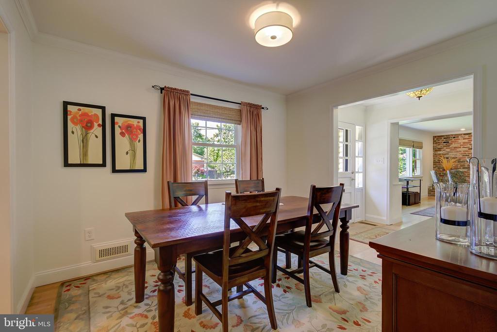 Dining Room - Southern Sun Exposure! - 2502 CHILDS LN, ALEXANDRIA