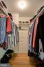 Main Level Primary/Master Bedroom Walk-In Closet - 2502 CHILDS LN, ALEXANDRIA