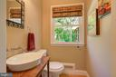 Main Level Half-Bath for Guests - Very Convenient! - 2502 CHILDS LN, ALEXANDRIA