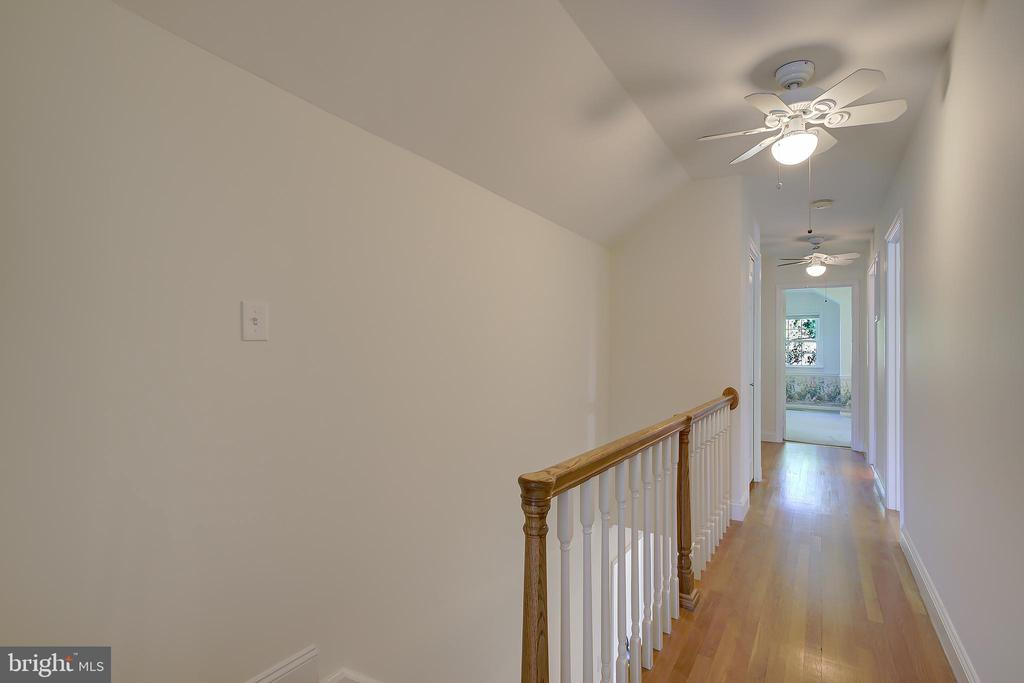 Upper Level Hallway Leading To Bedrooms #2 and #4 - 2502 CHILDS LN, ALEXANDRIA