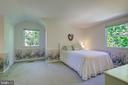 Bedroom #2 -  At End of Hallway (Upper Level) - 2502 CHILDS LN, ALEXANDRIA
