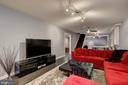 Family Room/Recreation Room - Light and Bright! - 2502 CHILDS LN, ALEXANDRIA