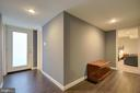 Finished Lower Level - Light and Bright Hallway - 2502 CHILDS LN, ALEXANDRIA
