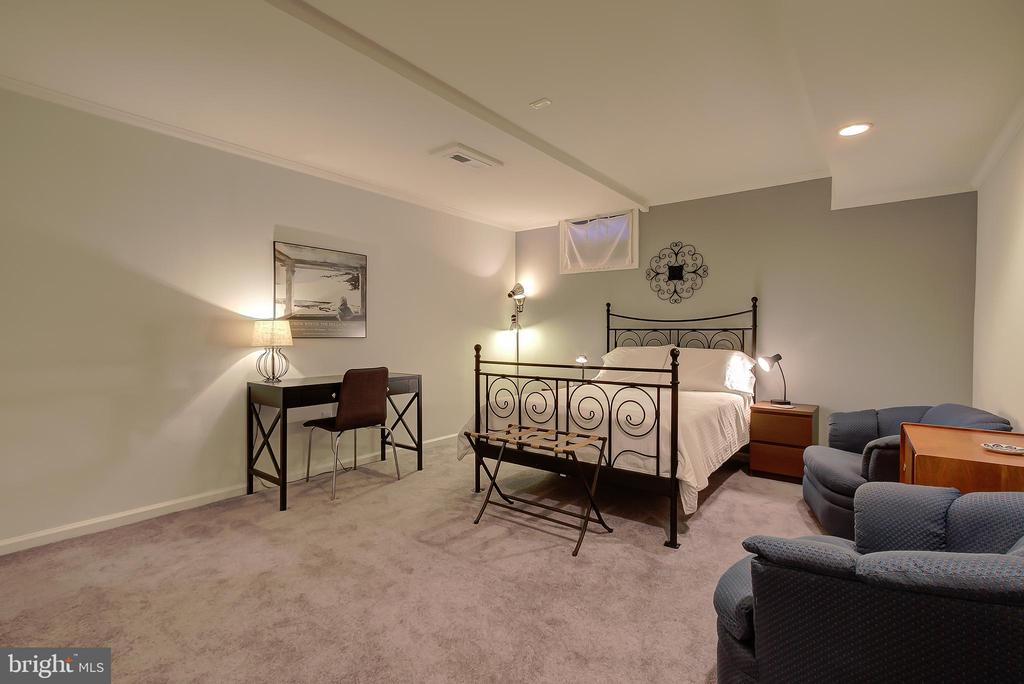 Guest Room or Possible 5th Bedroom (Lower Level) - 2502 CHILDS LN, ALEXANDRIA