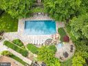 Pool Aerial View - 6622 MALTA LN, MCLEAN