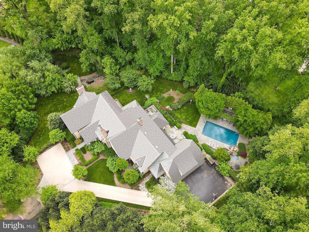 Aerial View - 6622 MALTA LN, MCLEAN