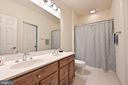 second Hall Bath - 17215 IVANDALE RD, HAMILTON