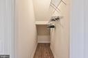 bedroom #6 closet - 17215 IVANDALE RD, HAMILTON