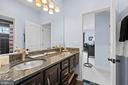 Upper Level bathroom 1 - 9903 S HARRIS FARM RD, SPOTSYLVANIA