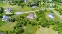 Aerial View of the complete property - 9903 S HARRIS FARM RD, SPOTSYLVANIA