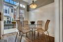 Eat in kitchen open to balcony - 8 KEITHS LN, ALEXANDRIA