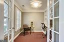 Office on separate private level - 8 KEITHS LN, ALEXANDRIA