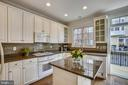 White cabinets - 8 KEITHS LN, ALEXANDRIA