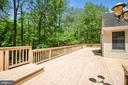beautiful deck - 15302 SWEETRIDGE RD, SILVER SPRING