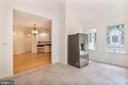sunroom with high ceiling - 15302 SWEETRIDGE RD, SILVER SPRING