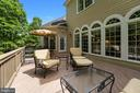 Expansive Deck with Outdoor Lighting & Speakers - 11500 TURNING LEAF CT, SPOTSYLVANIA