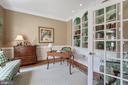 Study Features Custom Built-in File Cabinets - 11500 TURNING LEAF CT, SPOTSYLVANIA