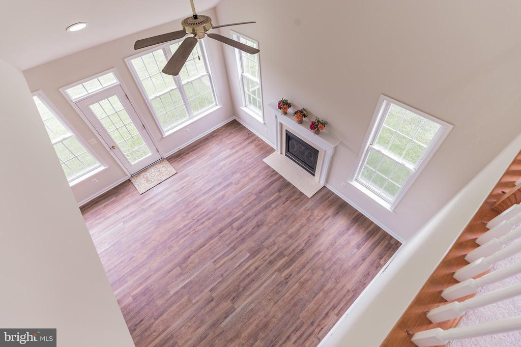 View of Family Room From Loft - 13206 TRIPLE CROWN LOOP, GAINESVILLE