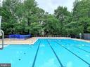 One of the 2 pools in Lake Braddock - 9312 WINBOURNE RD, BURKE