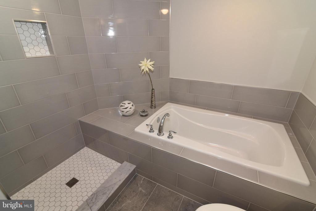 Primary bath - 12143 CHANCERY STATION CIR, RESTON