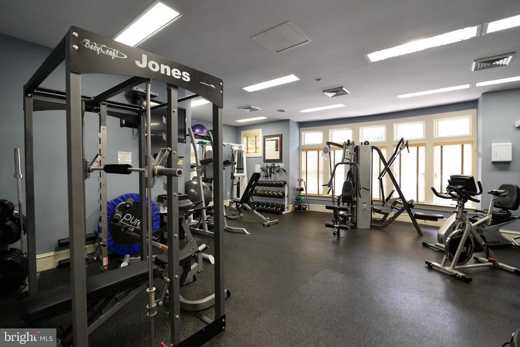 Clubhouse gym - 12143 CHANCERY STATION CIR, RESTON