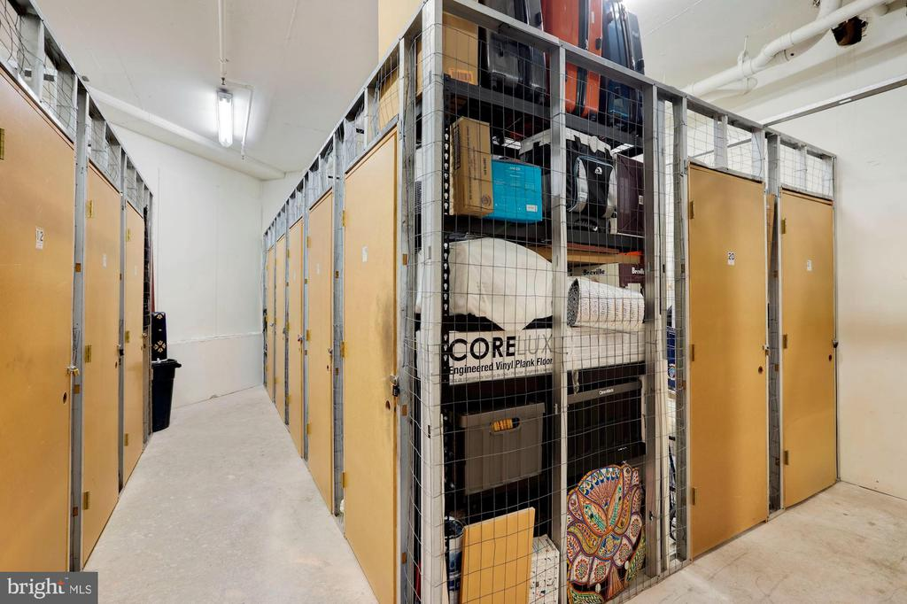 Extra storage space - 2400 CLARENDON BLVD #301, ARLINGTON