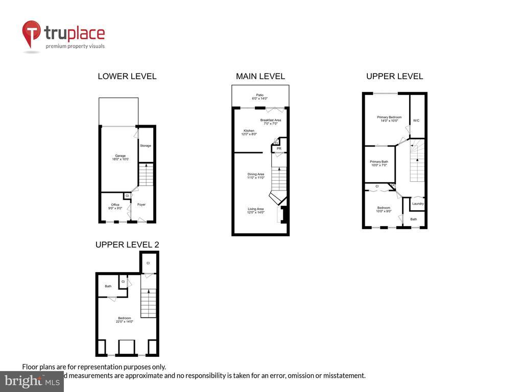 Four levels - 8 KEITHS LN, ALEXANDRIA
