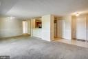 LIVING/ROOM DINING ROOM COMBO - 12407 HICKORY TREE WAY #533, GERMANTOWN
