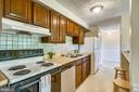GALLEY KITCHEN W/ 1 YEAR OLD SS DISHWASHER - 12407 HICKORY TREE WAY #533, GERMANTOWN