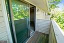 PRIVATE BALCONY - 12407 HICKORY TREE WAY #533, GERMANTOWN