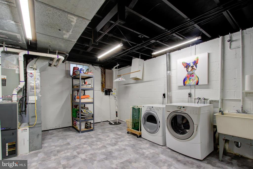 Laundry/Utility Room (Lower Level) - 2502 CHILDS LN, ALEXANDRIA