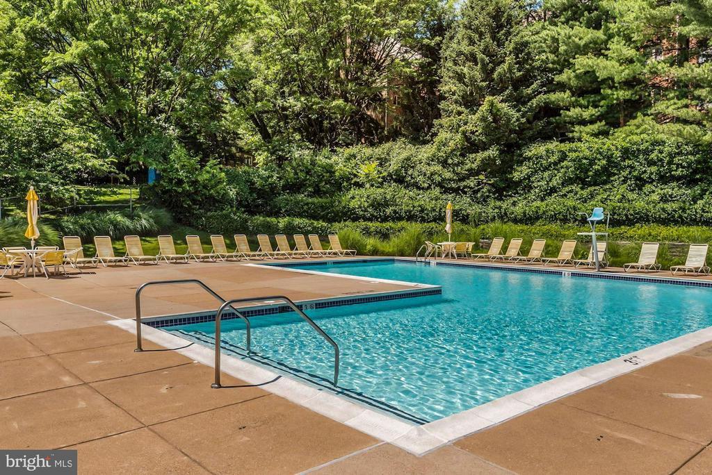 Outdoor pool - 2100 LEE HWY #G11, ARLINGTON