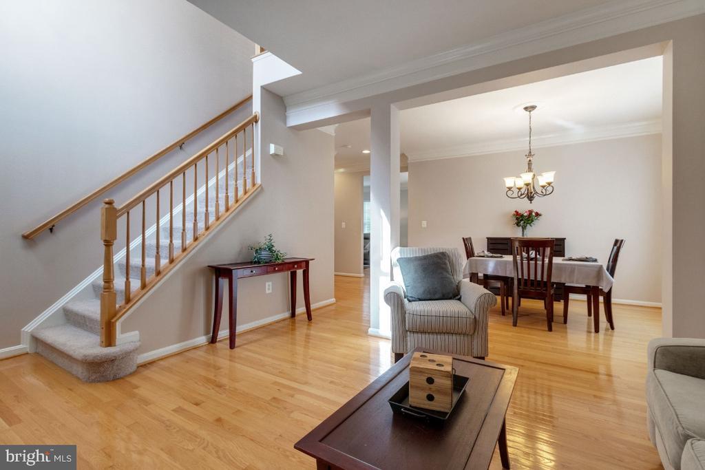 Living Room - 25554 DABNER DR, CHANTILLY