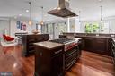 Island with stove & hood AND an island for seating - 2507 11TH ST N, ARLINGTON