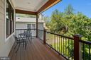 Primary bedroom suite balcony - 2507 11TH ST N, ARLINGTON