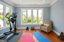 Sitting room, workout space, yoga in primary suite - 2507 11TH ST N, ARLINGTON