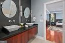 Primary bath with dual vanities - 2507 11TH ST N, ARLINGTON