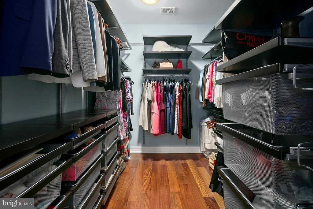 One (!) of the two walk-in closets - 2507 11TH ST N, ARLINGTON