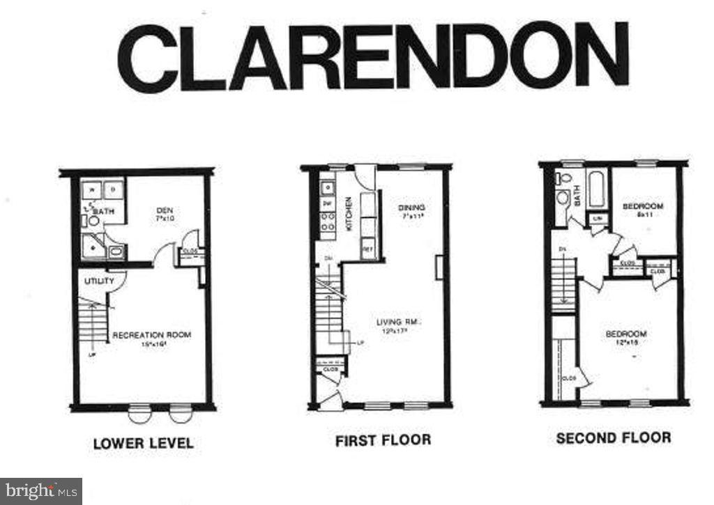 Floor Plan - 3543 S STAFFORD ST #A, ARLINGTON