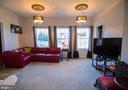Master bedroom sitting room - 25103 HIGHLAND MANOR CT, GAITHERSBURG