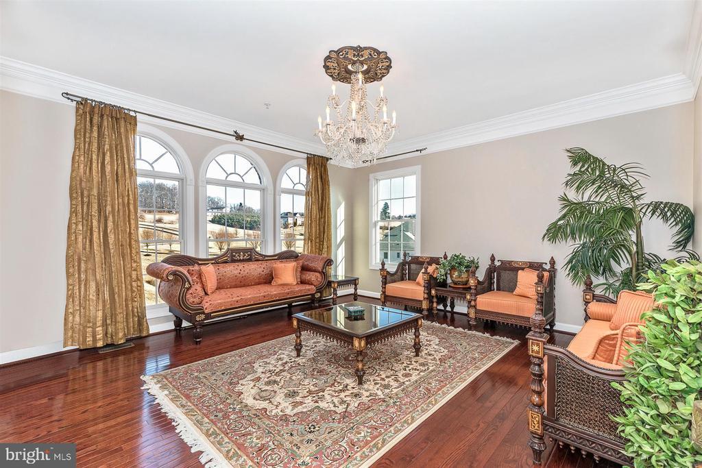 Living room - 25103 HIGHLAND MANOR CT, GAITHERSBURG