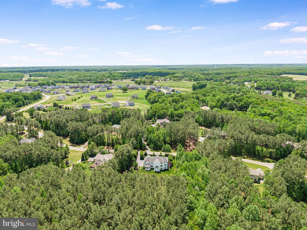 Aerial VIEW OF WOODED LOT 2.47 ACRE - 12809 GLENDALE CT, FREDERICKSBURG
