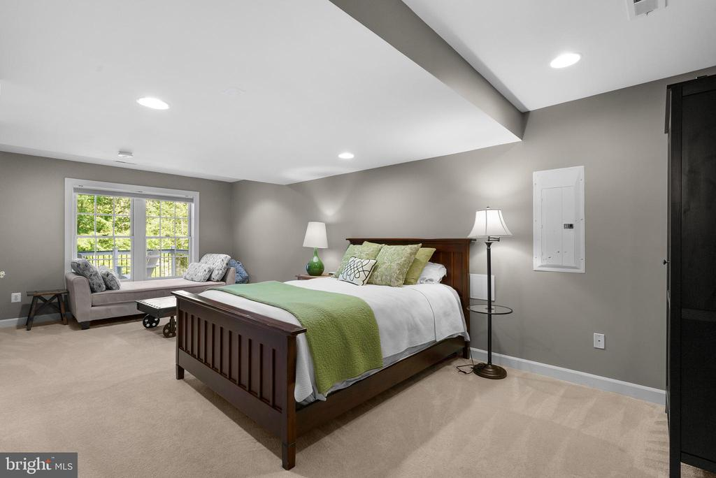 BRIGHT Lower Level Bedroom #5 - 47273 OX BOW CIR, STERLING