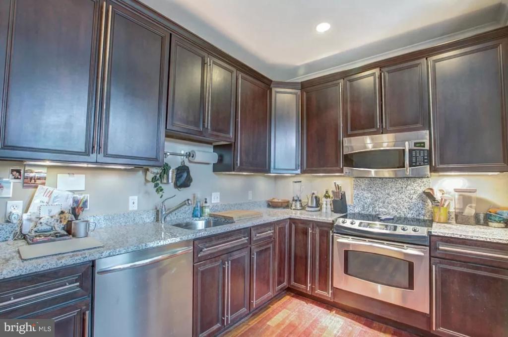 Unit 3 - Kitchen - 1700 13TH ST NW, WASHINGTON