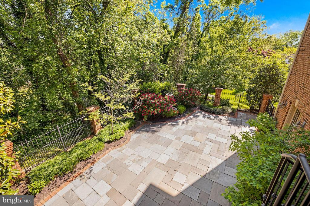 Rear Garden Terrace - 3823 N RANDOLPH CT, ARLINGTON