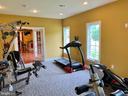 Basement Bedroom/gym - 7216 PRESERVATION CT, FULTON