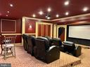 Theatre room - 7216 PRESERVATION CT, FULTON