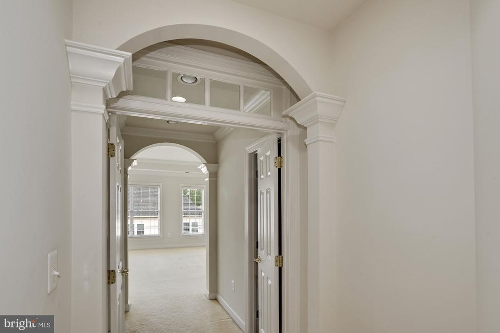 Entrance to master bedroom - 24905 EARLSFORD DR, CHANTILLY