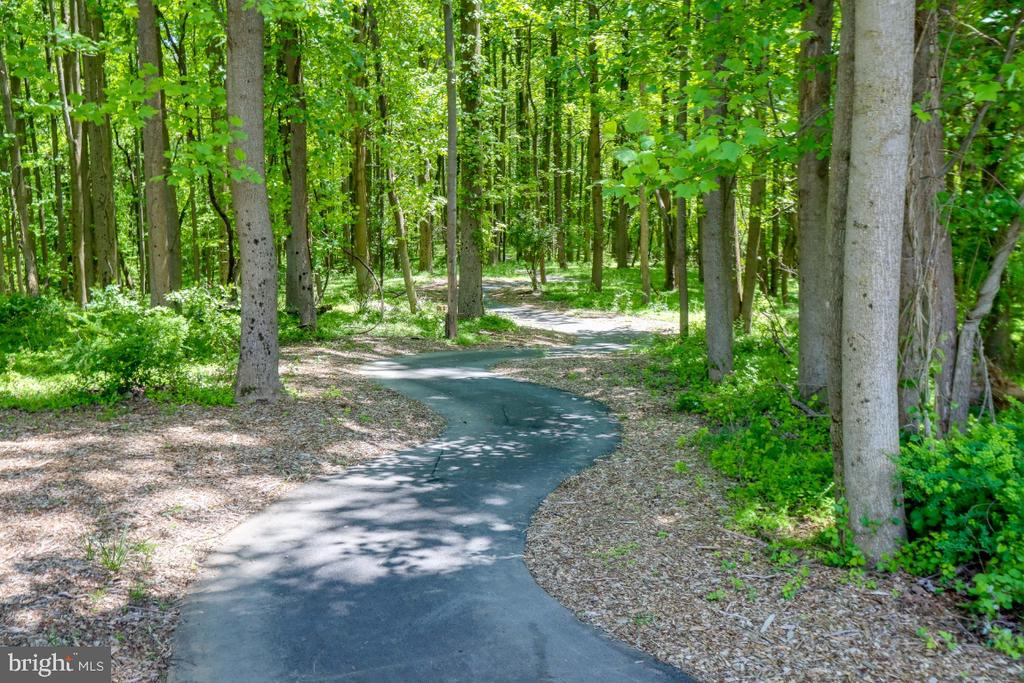 Just a few yards from your doorstep- walking paths - 9754 KNOWLEDGE DR, LAUREL