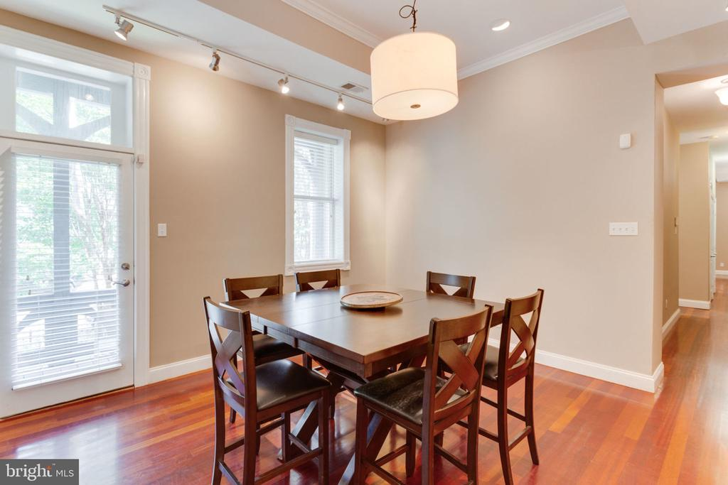 Unit 1 - Separate Sun-Filled Dining Room - 1700 13TH ST NW, WASHINGTON